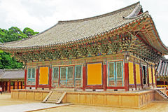 韩国联合国科教文组织世界遗产名录- Bulguksa寺庙 免版税图库摄影