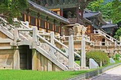 韩国联合国科教文组织世界遗产名录- Bulguksa寺庙 库存图片