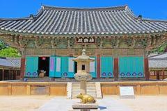 韩国联合国科教文组织世界遗产名录- Bulguksa寺庙 图库摄影