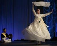 韩国芭蕾舞女演员 库存图片