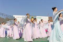 韩国菩萨的生日庆祝 免版税库存图片