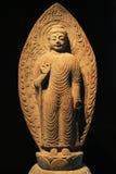 韩国菩萨雕象 免版税图库摄影