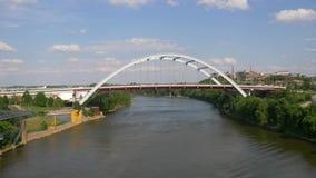 韩国退伍军人大道桥梁向纳稀威 股票视频