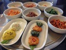 韩国配菜 免版税图库摄影