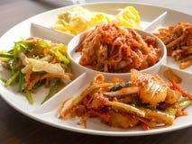 韩国配菜 免版税库存图片