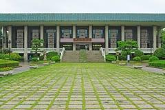 韩国釜山博物馆 免版税图库摄影
