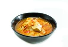 韩国食物, kimchi炖煮的食物 免版税库存照片