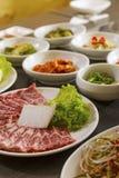 韩国食物 图库摄影
