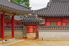 韩国水源Hwaseong Haenggung宫殿 库存照片