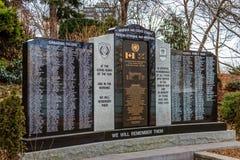 韩战纪念品 免版税库存照片