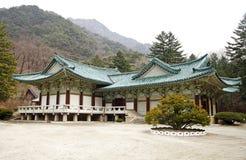 韩文北部寺庙 库存图片