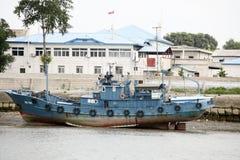韩文北部码头 库存照片