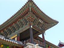 韩文南寺庙 库存照片