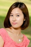 韩文妇女 图库摄影