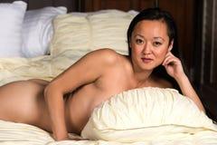 韩文妇女 库存照片