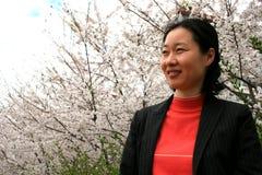 韩文妇女 库存图片