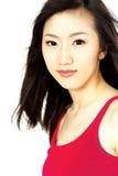 韩文妇女 免版税图库摄影