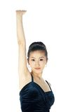 韩文妇女 免版税库存图片