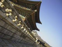 韩文宫殿 免版税库存照片