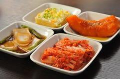 韩文开胃菜 库存照片