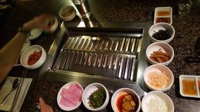 韩文烤肉 库存图片