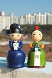 韩文的玩偶 图库摄影