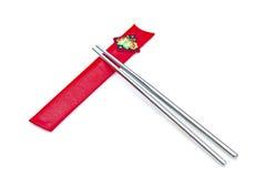 韩文的筷子 免版税库存图片