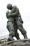 韩文纪念汉城战争 库存照片