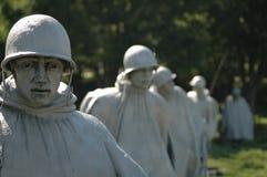 韩文纪念退伍军人战争 免版税图库摄影
