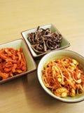 韩文蔬菜烂醉如泥的沙拉 图库摄影