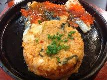 韩文食物 免版税库存照片