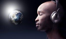 音乐世界 库存照片