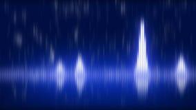 音乐主题的抽象调平器 皇族释放例证