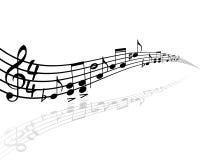 音乐主题 库存照片