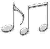 音乐介绍声音 免版税库存图片