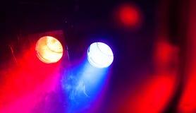 音乐会光 向量例证