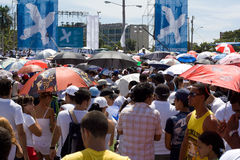 音乐会古巴哈瓦那ii和平 免版税库存照片