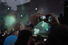 音乐会在波兰 免版税库存图片