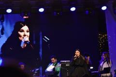 音乐会宝拉Seling奥拉迪亚2016年12月 库存照片