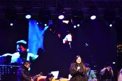 音乐会宝拉Seling奥拉迪亚2016年12月 免版税库存图片