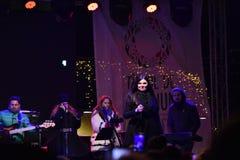 音乐会宝拉Seling奥拉迪亚2016年12月 免版税图库摄影