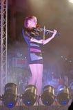 音乐会小提琴 库存照片