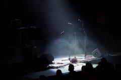 音乐会岩石阶段 库存照片