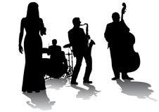 音乐会爵士乐 向量例证