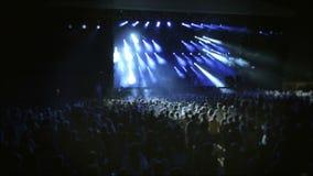音乐会的人们 股票视频
