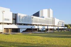 音乐会finlandia大厅 库存照片