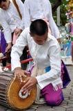 音乐作用泰国传统 库存照片