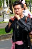 音乐作用泰国传统 图库摄影