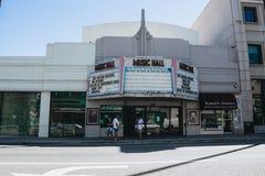 音乐厅Laemmle剧院 免版税库存图片
