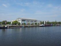 音乐和国会大厅在Luebeck 免版税图库摄影